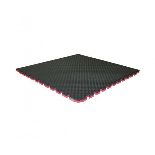 Буто-мат ППЭ-2025 (1*1) черно-красный