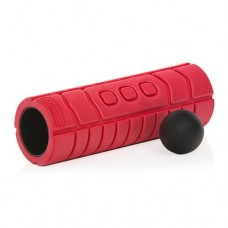 Массажный ролик и мяч Gymstick Travel Roller with Myofascial Ball, длина 33 см