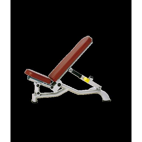 Силовая скамья Bronze Gym H-037 регулируемая
