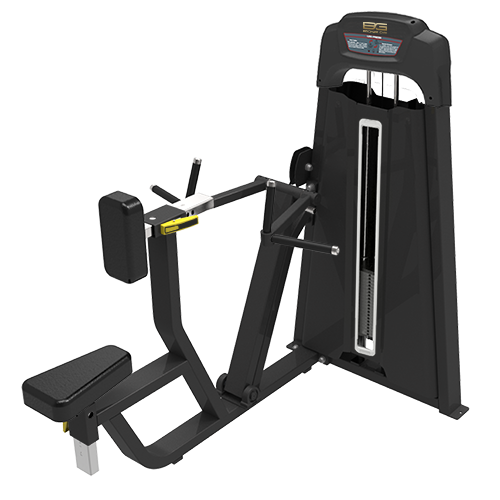 Грузоблочный тренажер Bronze Gym LD-9034 Гребная тяга рычажная