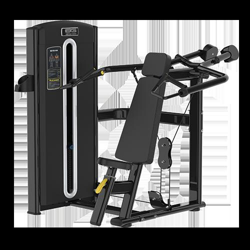 Грузоблочный тренажер Bronze Gym M05-003 - жим от плеч