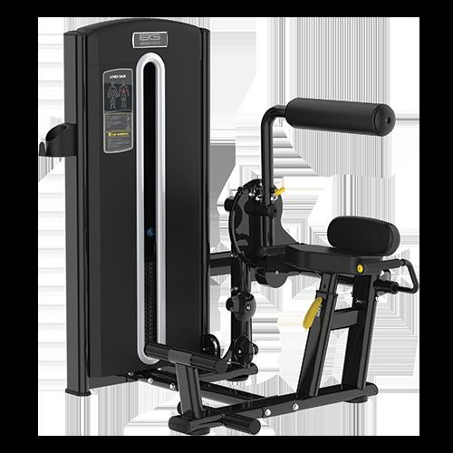 Грузоблочный тренажер Bronze Gym M05-009 - разгибание спины