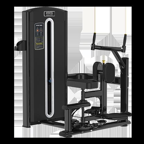 Грузоблочный тренажер Bronze Gym M05-011 - торс-машина
