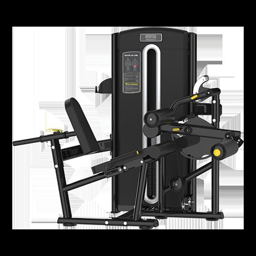 Грузоблочный тренажер Bronze Gym M05-013 - сгибание ног сидя