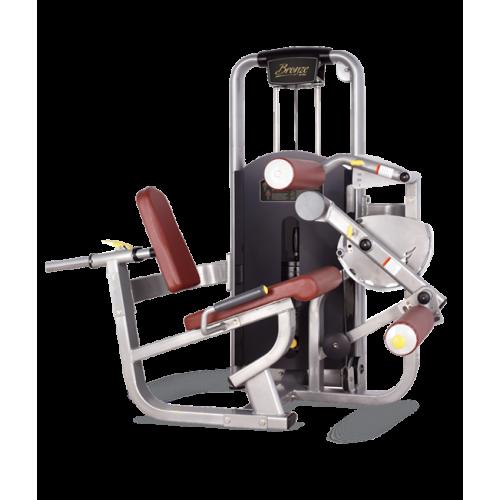 Грузоблочный тренажер Bronze Gym MV-013 Сгибание ног сидя