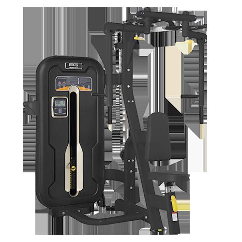 Грузоблочный тренажер Bronze Gym MZM-002A - баттерфляй/задняя дельта