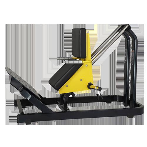 Тренажер на свободных весах Bronze Gym XA-00 Голень-машина