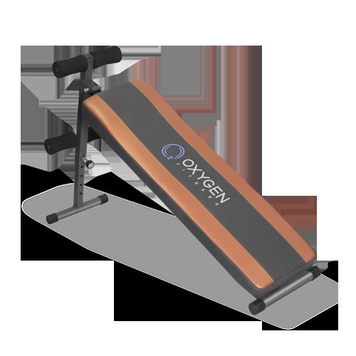 Скамья для пресса Oxygen FLAT SIT UP BOARD прямая