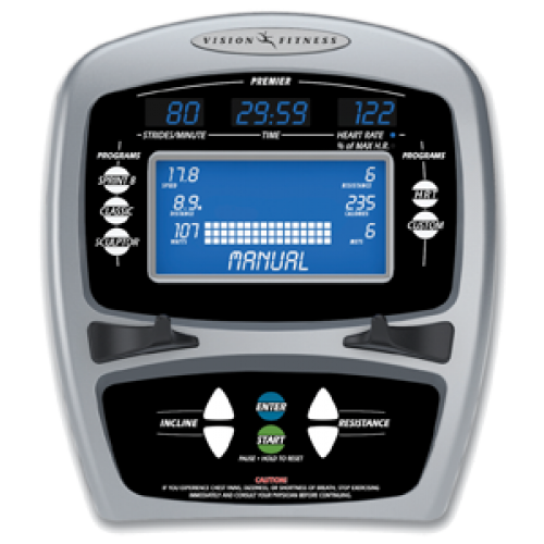 Эллиптический эргометр Vision S7100 HRT