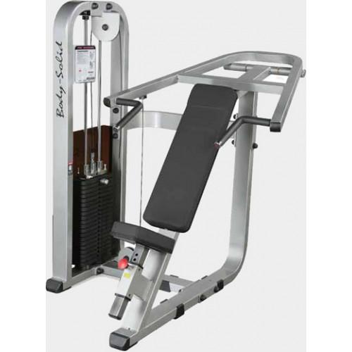 Грузоблочный тренажер Body Solid ProClub SIP-1400G - наклонный жим от груди
